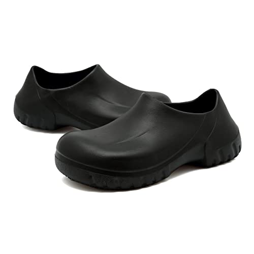 Amazon.com: EASTSURE Slip Resistant Shoes for Women Men Black Non Slip Kitchen Work Shoes for Nurse Chef,US 6,EU 37: Shoes