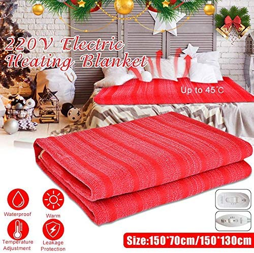 Winter Cover Warm Winter Electric Heated Blanket Heater Controller Flannel