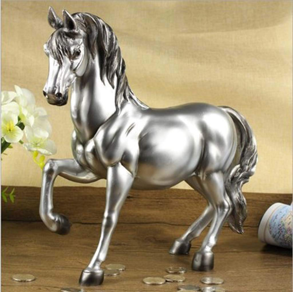 HEHE Animal Horse Piggy Bank Adult Oversized Personality Creative Cute Child Piggy Bank,5 by HEHE