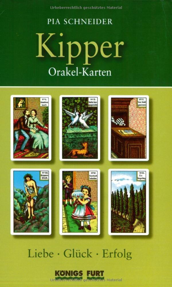 Kipper Orakelkarten (Buch): Liebe, Glück, Erfolg