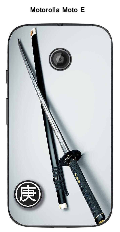 Onozo Carcasa Motorola Moto E Design, Katana de samouraa ¯: Amazon ...