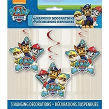 "26"" Hanging PAW Patrol Decorations, 3ct"