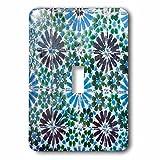3dRose lsp_227850_1 Portugal Sintra National Palace, Geometric Ceramic Tile Single Toggle Switch