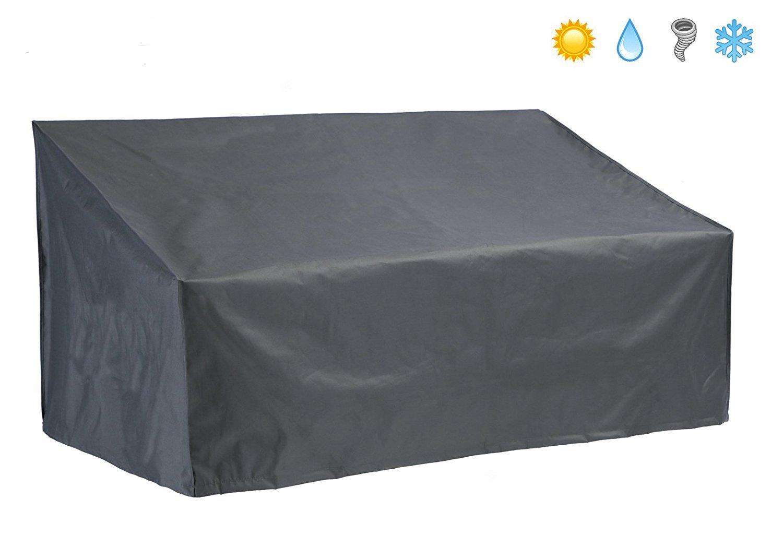 Direct Wicker Outdoor Loveseat Cover, Waterproof Patio Furnture Sofa Cover, Black.