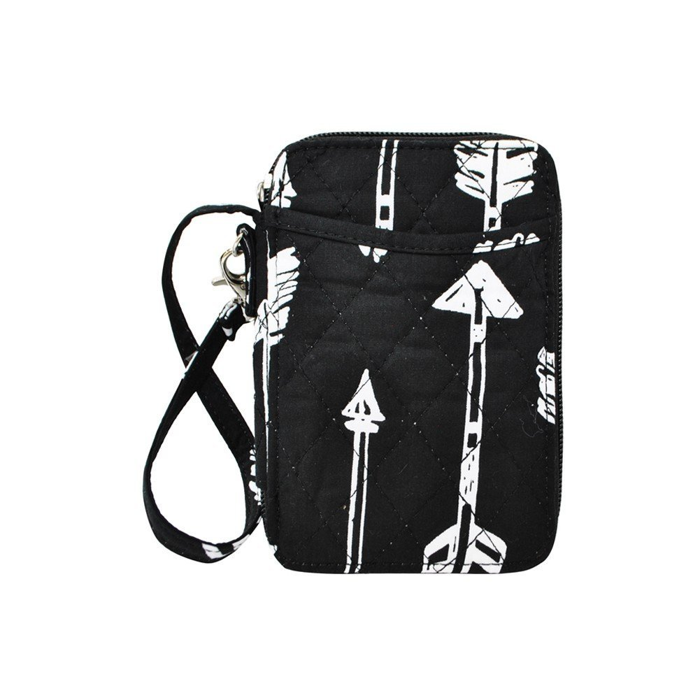 Arrow Print NGIL Quilted Wristlet Wallet