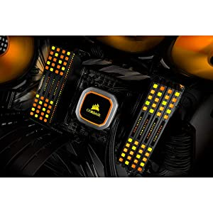 Corsair Dominator Platinum RGB 128GB (8x16GB) DDR4 3000 (PC4-24000) C15 1.35V Desktop Memory - Black (Color: Black)