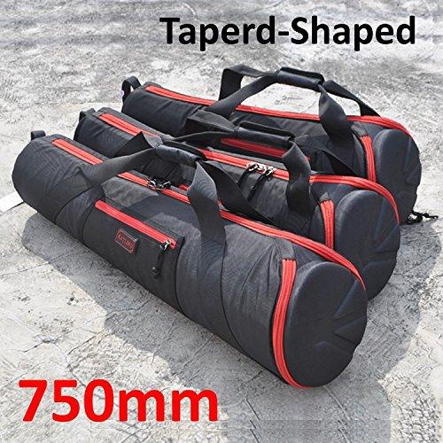 Foto.Studio 750mm Nylon Padded Camera Tripod Bag Light Stand Carrying Case Travel for Manfrotto Velbon Gitzo Slik etc 29.5 X 7.8 X 5 inch Taperd-Shaped 4332180588