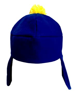 3f259ca93 MyPartyShirt Craig Tucker Blue And Yellow Costume Hat With Ear Flaps ...