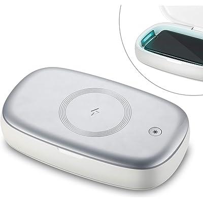 【22日まで】Lecone UV-C紫外線殺菌機能付き Qiワイヤレス充電器 送料込1,340円