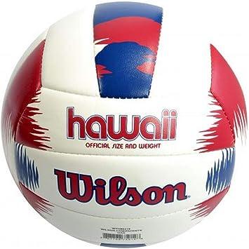 Wilson WTH80219XB Pelota de Voleibol AVP Hawaii Cuero sintético ...