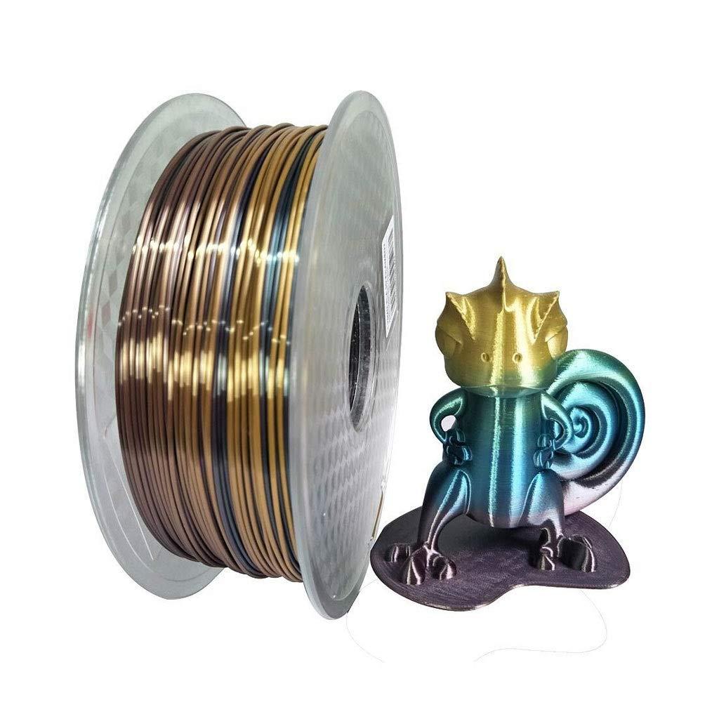 Nueva Impresora 3D filamento Seda imitación Seda Serie PLA 1.75 ...