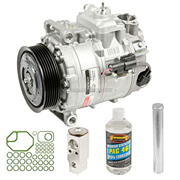 Nueva Original AC Compresor & embrague + a/c Kit de reparación para Land Rover