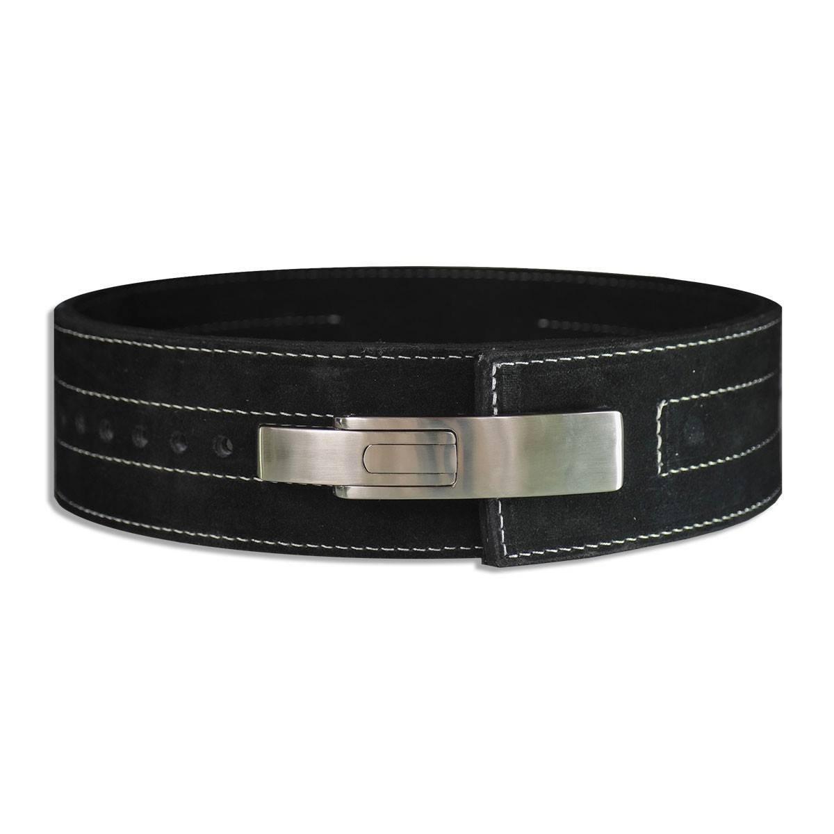 Belt Lifts: Weight Lifting Lever Belt 10mm Buckle Inzer Power Belt, 1