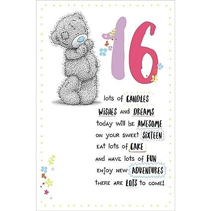 Amazon 16th Birthday Me To You Bear Birthday Card Office
