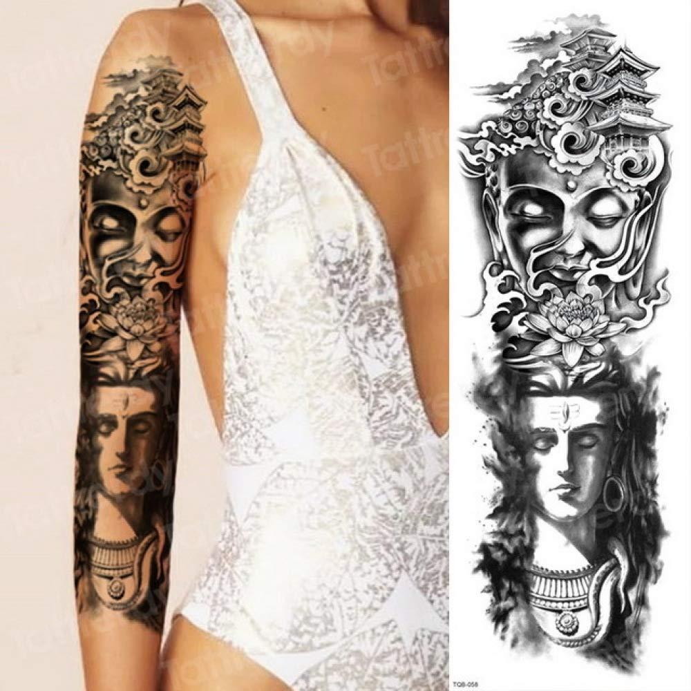 Handaxian 3pcs ángel Guerra Demonio Tatuaje anti-3pcs-5: Amazon.es ...