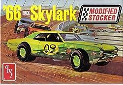 #30147 AMT Modified Stocker '66 Buick Skylark 1/25 Scale Plastic Model Kit. Needs Assembly from Amt