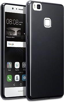 TERRAPIN Huawei P9 Lite Funda Protectiva de Silicona Gel TPU ...