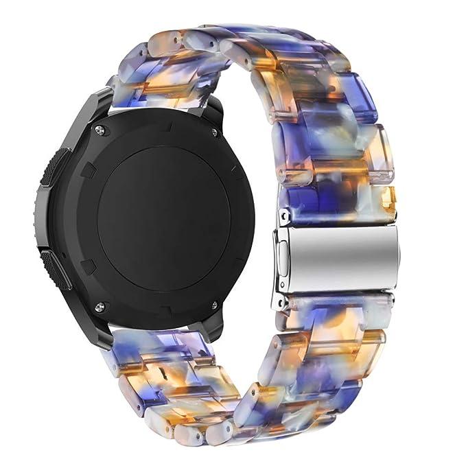 Samsung Gear S3 Classic/Frontier Band Omter Metal Magnético Milanese Smart Watch Correa de Repuesto para Samsung Gear S3 Frontier/Classic