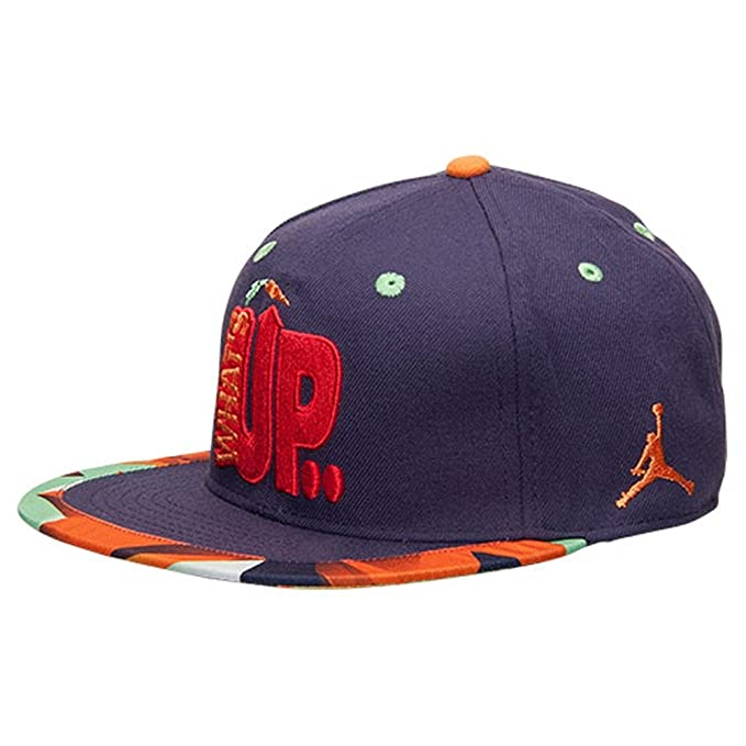 0443db1f939 ... where to buy coupon nike hare jordan vii whats up jock youth strapback  baseball hat d3389