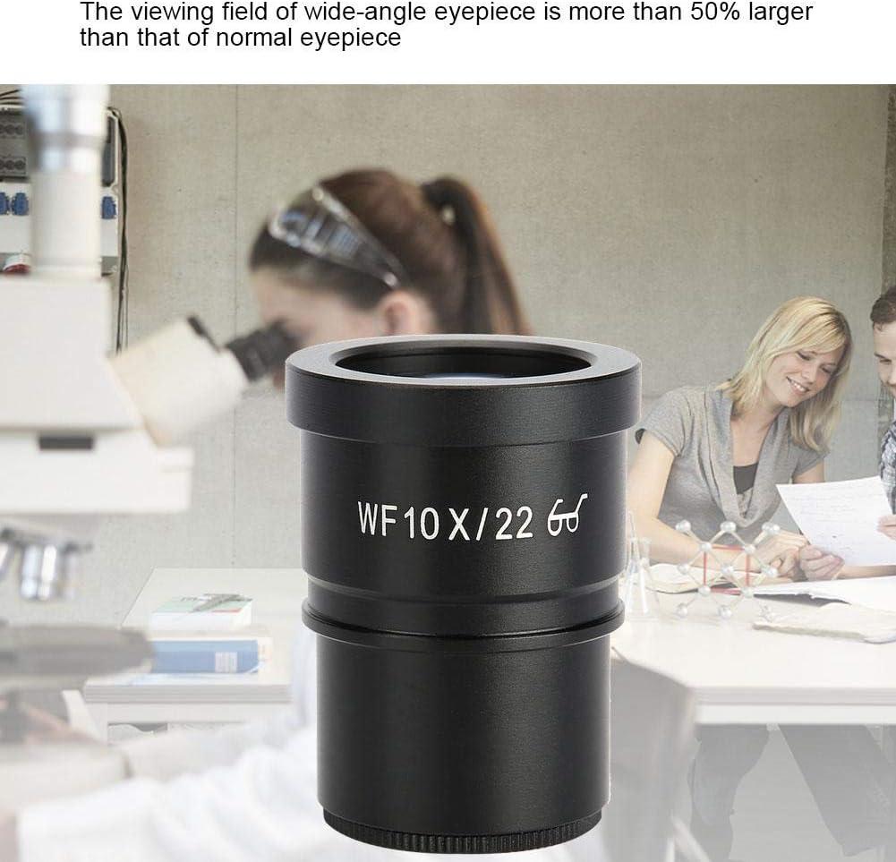 Pbzydu Wide-Angle Eyepiece WF006G-a WF10X 22mm Wide-Angle Eyepiece Stereo Microscope Ocular Lens 30mm