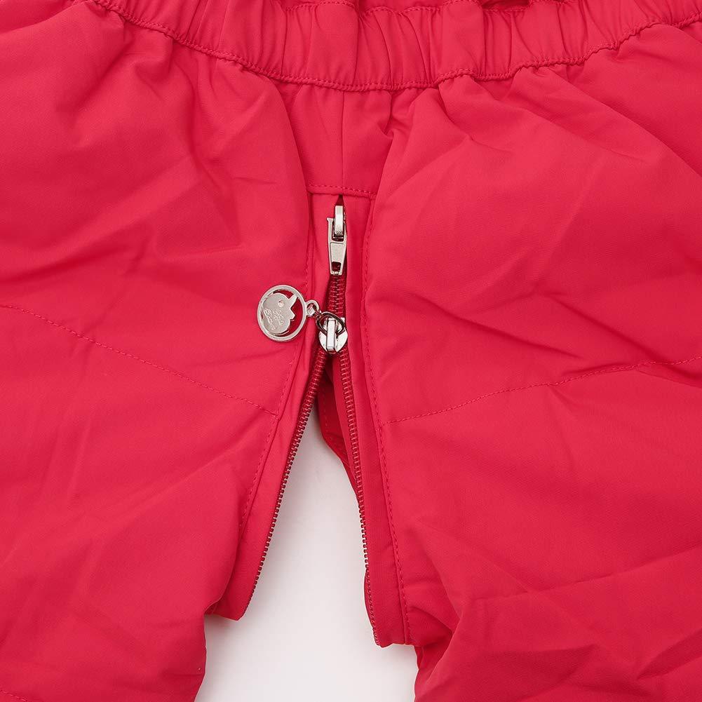 Schneelatzhose Down Jacket 2tlg Bekleidungsset Verdickte SANMIO Baby M/ädchen Winterjacke Warm Schneeanzug Daunenjacke Skianzug S/ü/ß Schneeanzug Mit Kapuze
