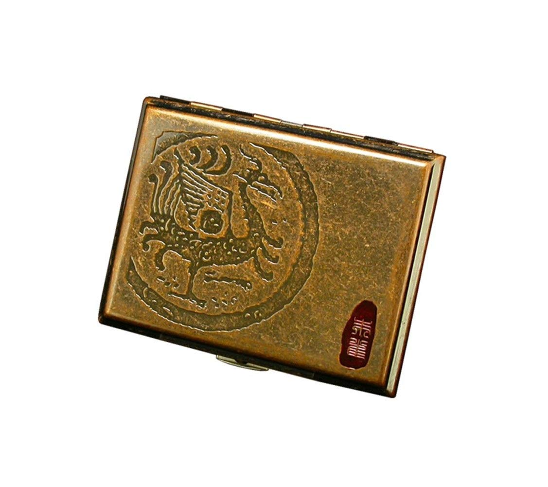 KALMAR The Cigarette Case Can Hold 16 Cigarettes (Optional in Four Colors) Cigarette Box Cigar Protective Cover (Color : B)