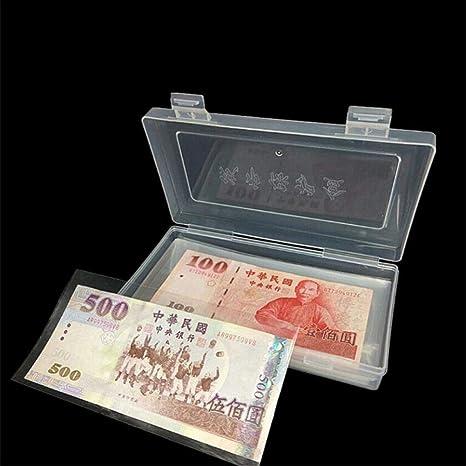 DACCU - Monedero de Papel de PVC Transparente, 100 Unidades ...