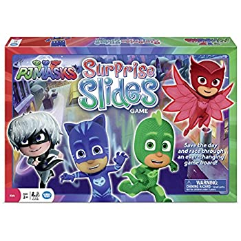 Wonder Forge PJ Masks Surprise Slides Game Board