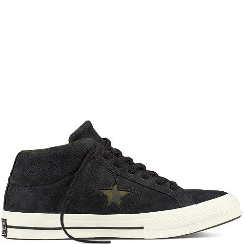 Converse Lifestyle One Star Mid Nubuck, Zapatillas de Deporte Unisex Adulto: Amazon.es: Zapatos y complementos