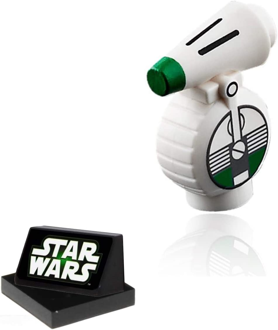 Amazon Com Lego Star Wars The Rise Of Skywalker Minifigure D O Droid With Display Stand 75257 Small Toys Games