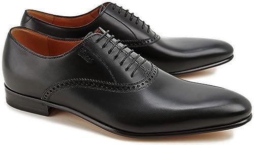 5d374fc4c Gucci Men's Brogue Leather Lace-up Oxford Dress Shoe, Black US 8.5 (Gucci