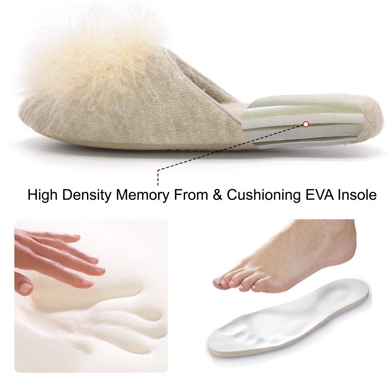 Amazon.com: Zigzagger - Zapatillas de espuma viscoelástica ...