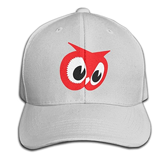 61f5ab52660 Unisex Red Owl Baseball Hip-hop Cap Vintage Adjustable Hats Cotton Trucker  Caps for Women