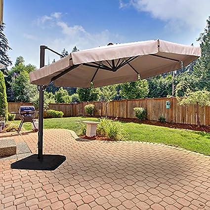 Amazon.com: Paraguas de repuesto para paraguas de jardín con ...