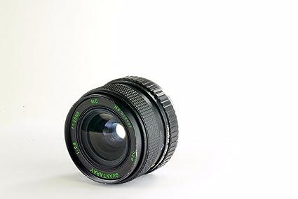 amazon com quantaray 28mm f 2 8 mc pentax pk manual focus lens rh amazon com Quantaray Lenses Compatibility Quantaray Lens Filters