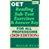 OET Reading (5 sets) For All-Professions by Maggie Ryan: Updated OET Preparation Book: VOL. 1, 2020 Edition (OET Reading Books by Maggie Ryan)