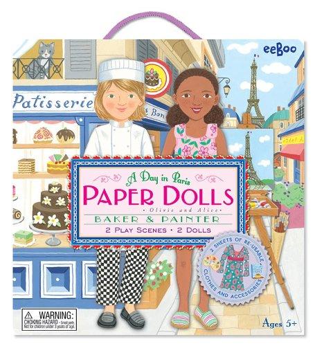 eeBoo Paper Dolls A Day in Paris (Eeboo Paper Dolls)
