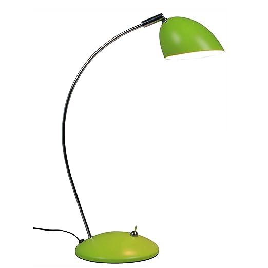 Lámpara de mesa en limonengrün Bauhaus Diseño Retro estilo ...