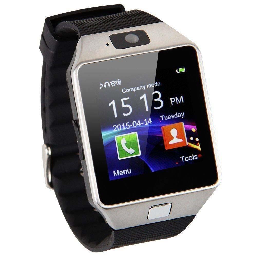 EMEBAY - Montre Intelligente Bluetooth/Montre connectée Bluetooth Smart Watch avec caméra pour Huawei, Xiaomi, Sony, Samsung et dautres Android Smartphones ...