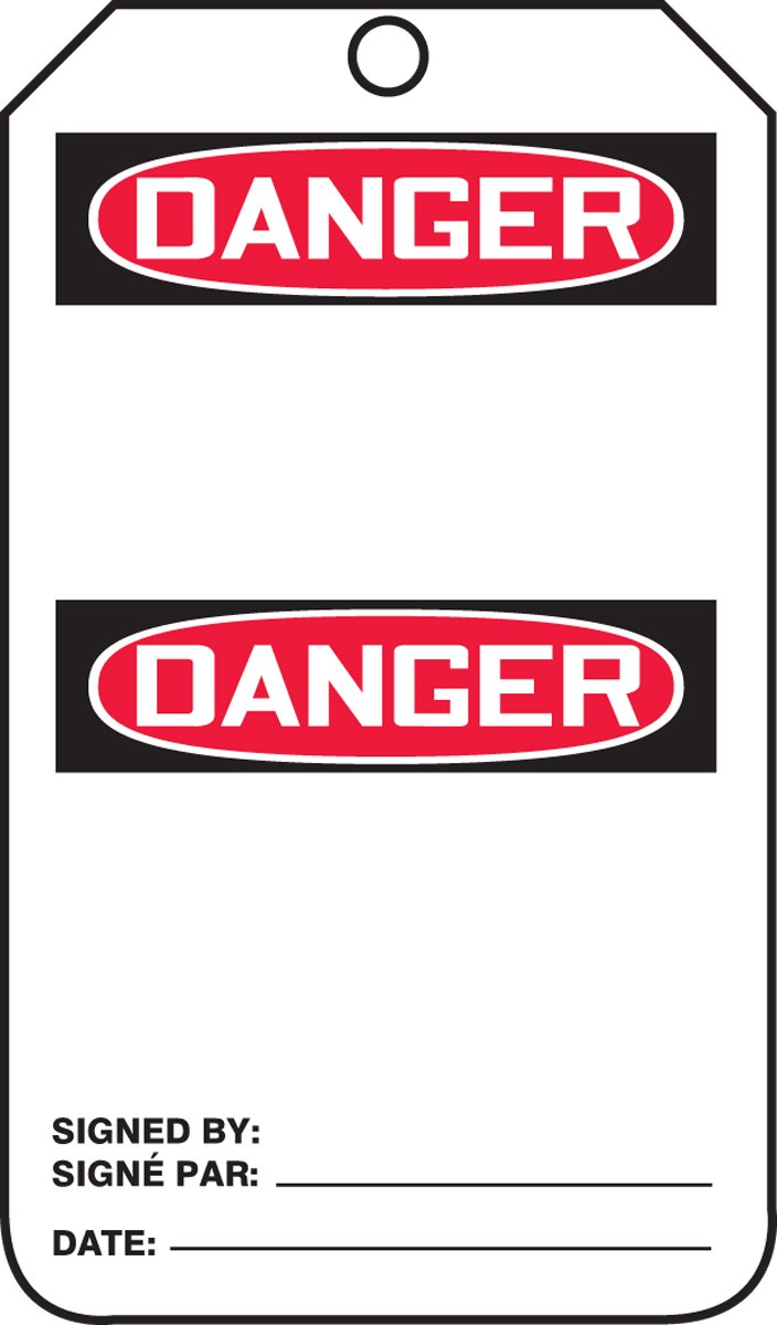DANGER BLANK HEADER (BILINGUAL FRENCH - DANGER)