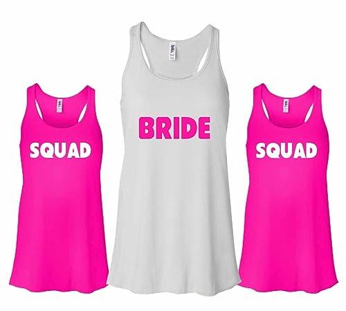 Bride Flamingo tank Bachelorette Party Tank bride gold Bride Bride Flamingo Racerback tank Bride Racerback tank top bachelorette shirt