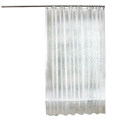 ONINAA Mold Mildew Resistant Waterproof PEVA Shower Curtain Liner No Smell Anti Bacterial Feagar