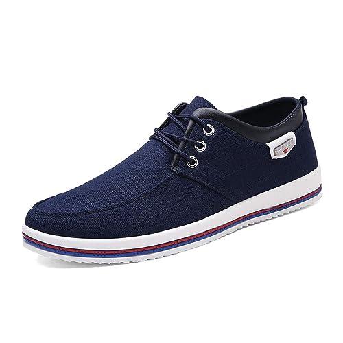 Mens Zapatos Casual Flats Zapatos Artesanales Mocasines para Hombre: Amazon.es: Zapatos y complementos