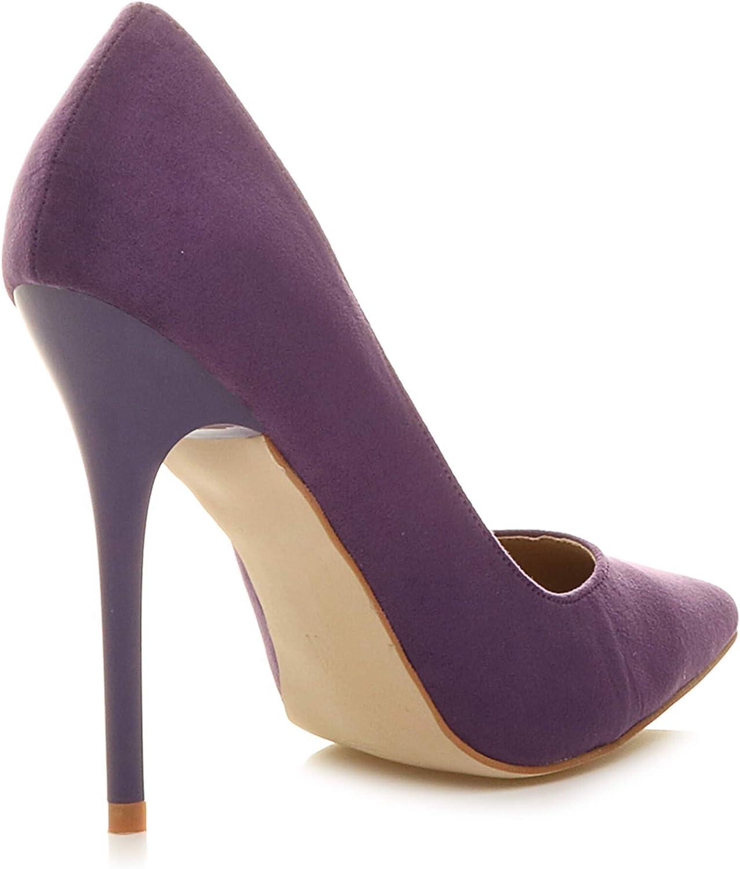 Femmes Talon Haut f/ête /él/égante Escarpins de Travail Chaussures Pointue Taille