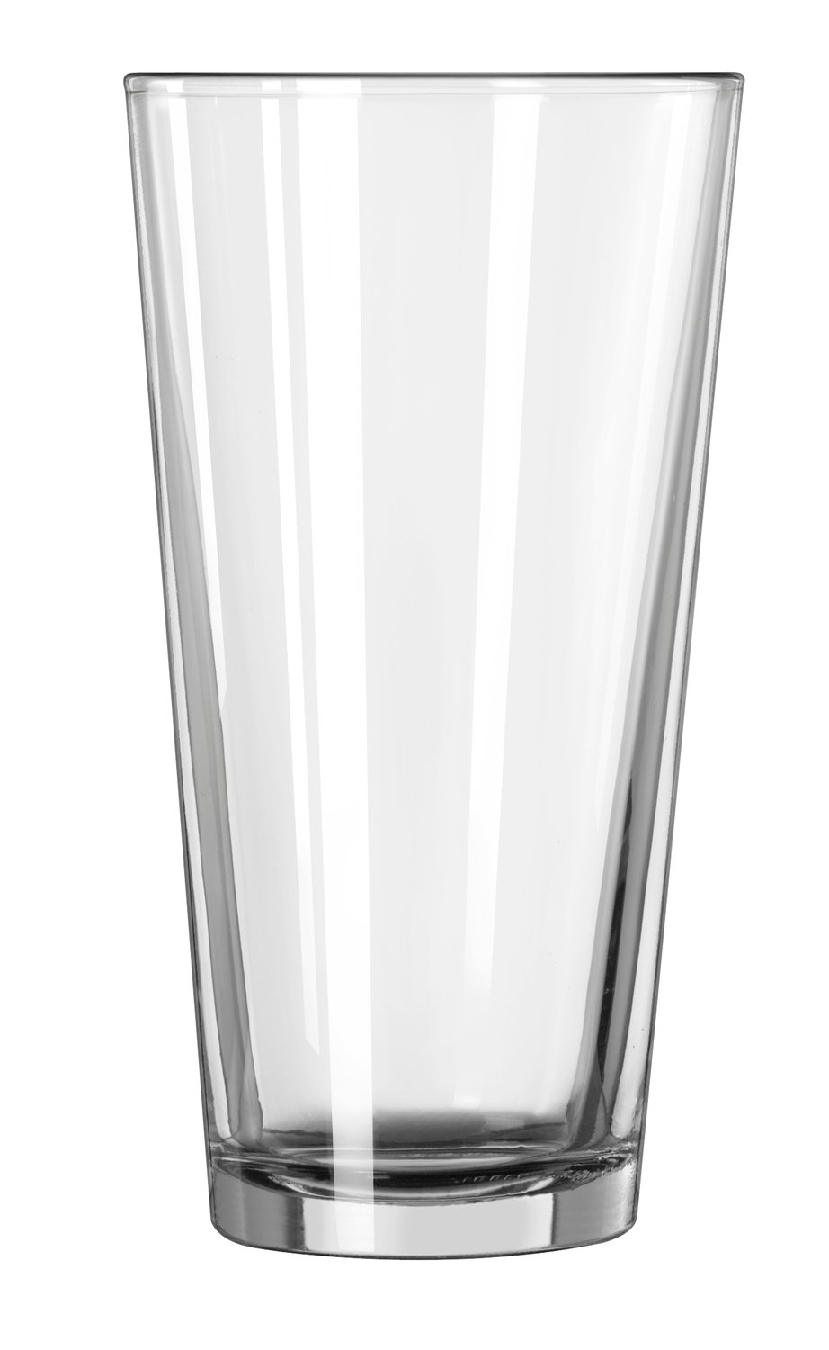 Libbey 15144 Restaurant Basics Mixing Glass, (Duratuff), 20 oz., 6.75'' Height, 3.625'' Width, 6.75'' Length, Large, Clear (Pack of 24)