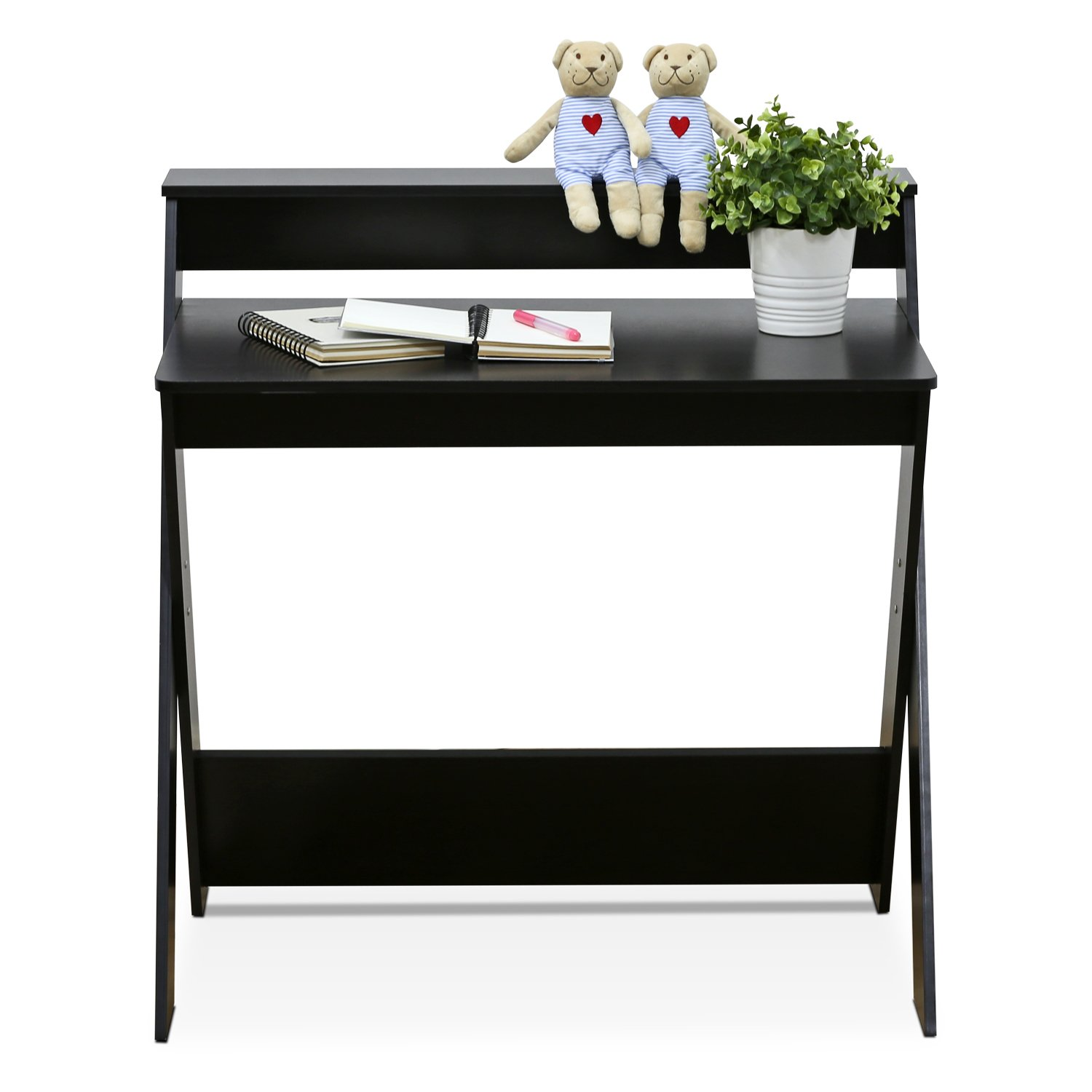 Furinno 16047EX Simplistic Criss-Crossed Home Office Study Desk by Furinno (Image #3)