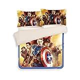 3D Captain America Bedding Sets - Sport Do Best