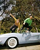 #7: Route 66 Featuring George Maharis, Martin Milner 16x20 Poster leaping from car