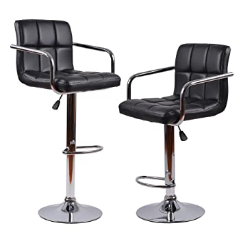 adjustable bar stool with backrest black friday only cameron stools set of 2 walnut modern leather swivel hydraulic counter
