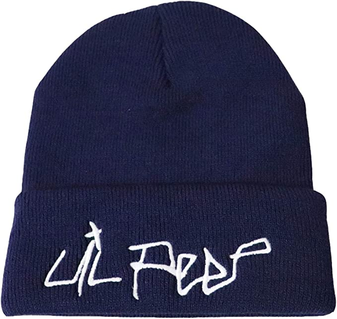 Men Beanie-Stickerei-Hut Cooler Cotton Beanie Slouch Skull Cap Lange Baggy Hip-Hop